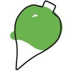peonza verde