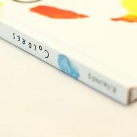 """Detalle del libro """"Colores""""."""