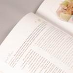 """Detalle del libro """"Yo quiero ser chef"""". A la izquierda, fragmento de una receta tailandesa."""