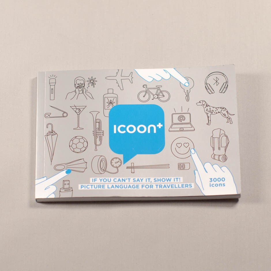 "Diccionario ""Icoon+. If you can't say it, show it! Picture language for travellers""."