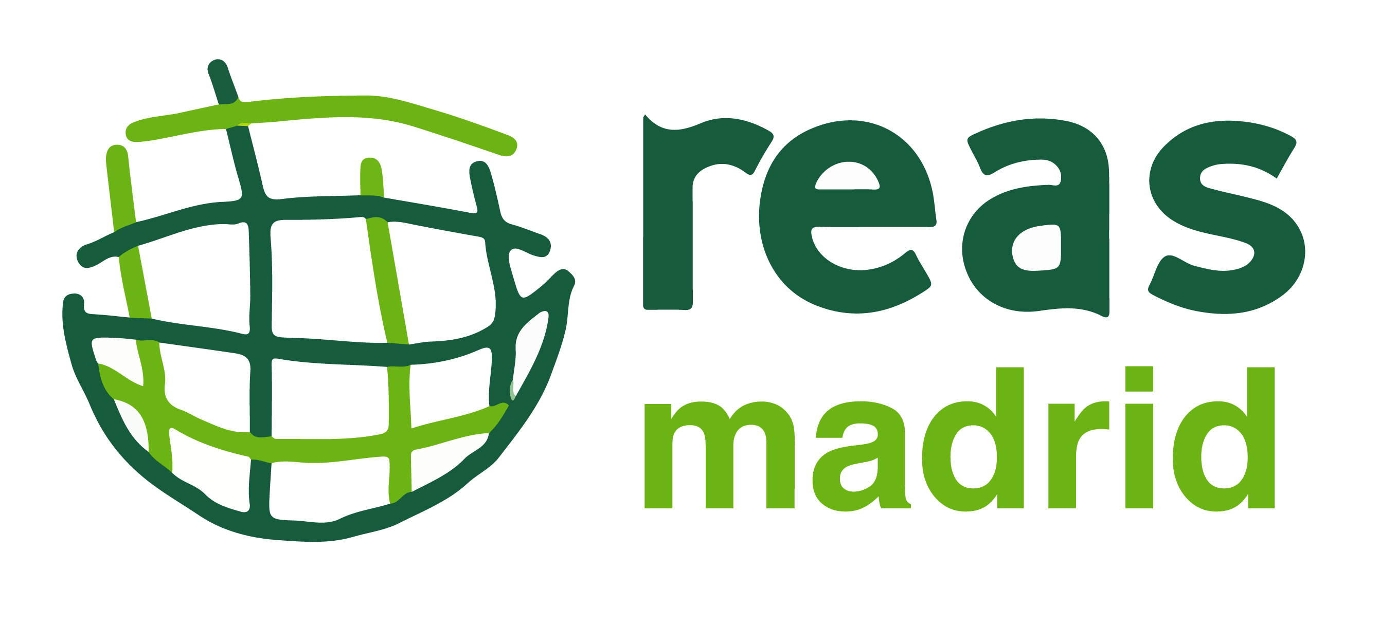 Logotipo de REAS Madrid.